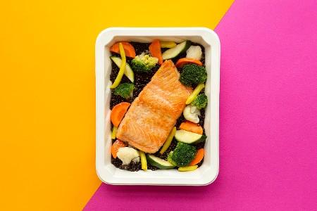6.Green Me&fish!(wegetariańska z rybą)