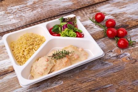 ZESTAW DNIA mięsny (zupa + II danie)