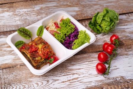 ZESTAW DNIA wegetariański, bezglutenowy (zupa + II danie)